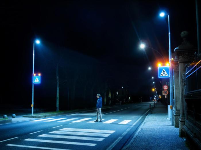 Attraversamento pedonale luminoso LAMA DI LUCE Urbano
